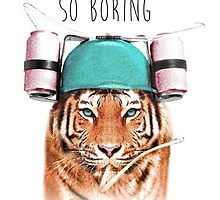 Swaggy Tiger by Julien Missaire