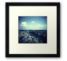 South Point. Framed Print