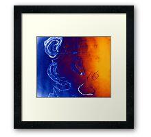 Psychic Social Experiments Framed Print