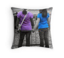 Mates Throw Pillow