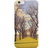 garden by the river iPhone Case/Skin