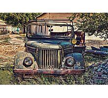 Gaz Jeep Photographic Print