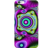 Colourful Circles and patterns iPhone Case/Skin