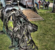Old Saddles Never Die.. ( Just Like Old Cowboys ) by raberry
