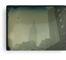 ESB Dry Plate Tintype Photograph Canvas Print