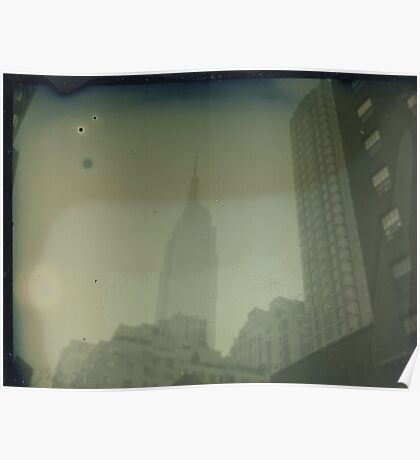 ESB Dry Plate Tintype Photograph Poster