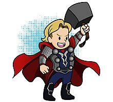 Tiny Thor Photographic Print