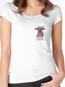 Torchwood Three Women's Fitted Scoop T-Shirt