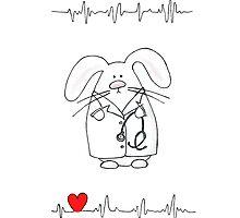 Doctor Rabbit by LaAmapolaRoja