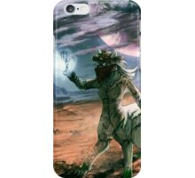 When planets collide iPhone Case/Skin