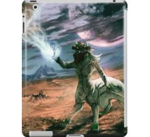 When planets collide iPad Case/Skin