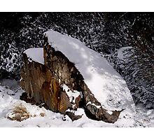 photoj Tas, 'Winter Snow Is Upon Us! Photographic Print
