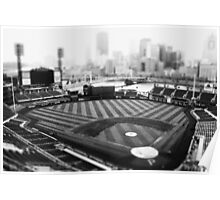 PNC Park - Black and White Poster