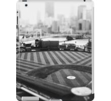 PNC Park - Black and White iPad Case/Skin