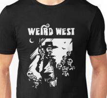 Weird West Cowboy and Zombies Unisex T-Shirt