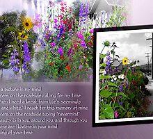 Flowers in my mind by Liz Wear