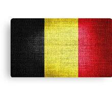 Belgium Flag Canvas Print