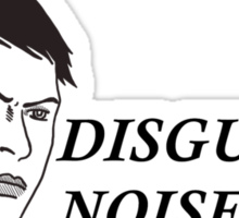 Cassandra disgusted noise Sticker