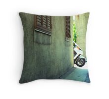 all around me time marches on Throw Pillow