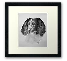 """The Sweetest Face"" Framed Print"