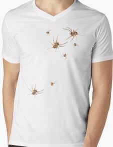Arachnid Invasion Mens V-Neck T-Shirt