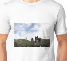 Indy above the sheep Unisex T-Shirt