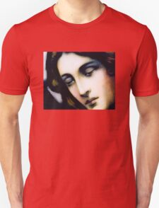 Angel - Stained Glass - Portrait T-Shirt