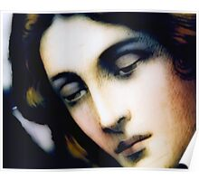 Angel - Stained Glass - Portrait Poster