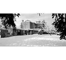 St. John's Shaughnessy, Vancouver in Snow Photographic Print