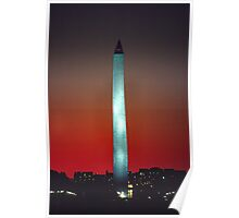 Washington Monument 9 Poster