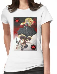The Queen of Hearts Collaboration Womens Fitted T-Shirt