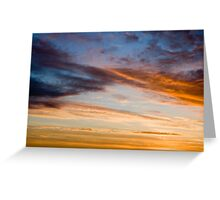 Twisted cloud Greeting Card
