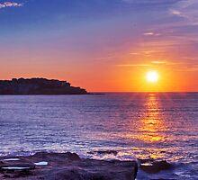 Sunrise over Bondi Beach by Mark Richards