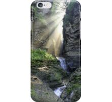 Heaven's Light In Watkins Glen iPhone Case/Skin