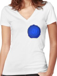 Branded Zone 7 Women's Fitted V-Neck T-Shirt