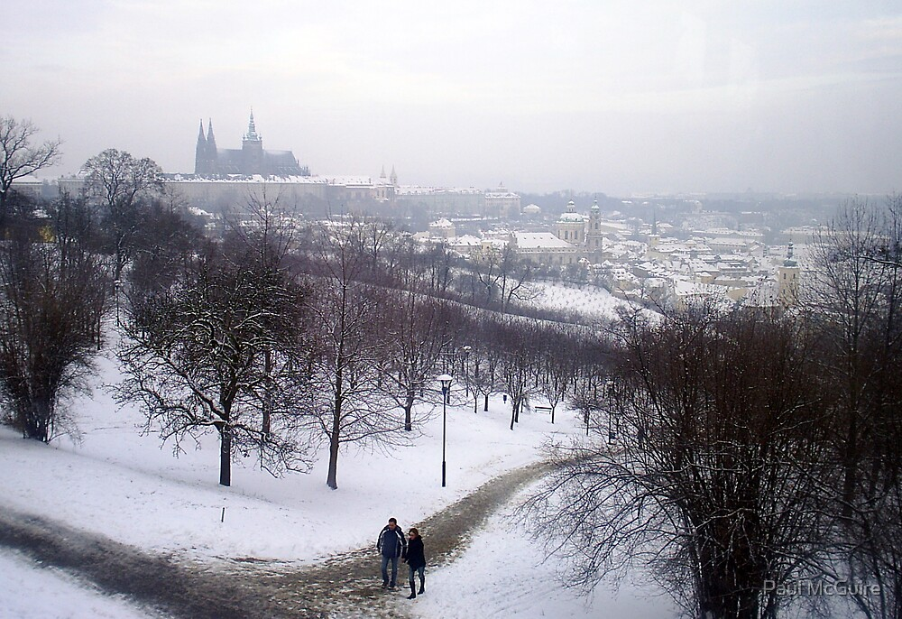 Wintry Prague by Paul McGuire