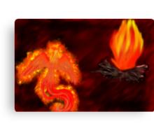 Born of Fire Canvas Print