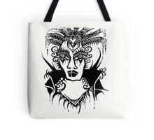 Tattoo - Black and white Tote Bag