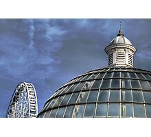 Wheel and Dome Photographic Print