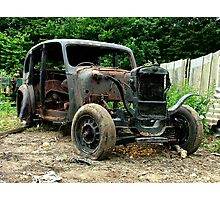 Don`t Buy a Used Car from Fred Flintstone ! Photographic Print