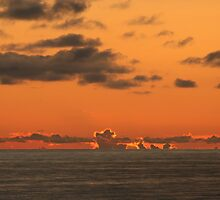North Sea Sunset by Alex Young