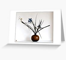 Ikebana-077 Greeting Card  Greeting Card