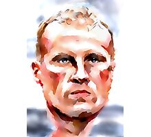 Dennis 'The Iceman' Bergkamp Photographic Print