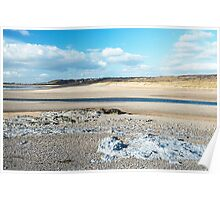 Ogmore by Sea and the Beach Poster
