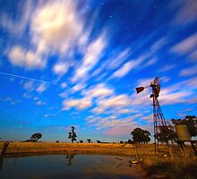 ISS Wind Mill by Murray Wills