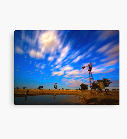 ISS Wind Mill Canvas Print