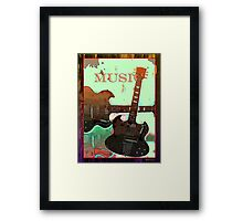 Music III Framed Print