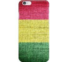 Bolivia Flag iPhone Case/Skin