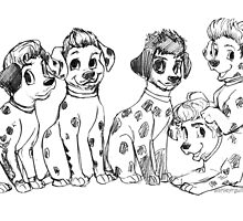 Dalmatian Direction by ashleyrguillory