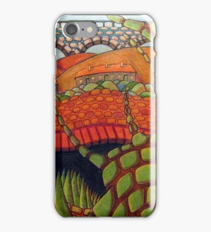 415 - BRICKERTREE II - DAVE EDWARDS - COLOURED PENCILS & INK - 2015 iPhone Case/Skin